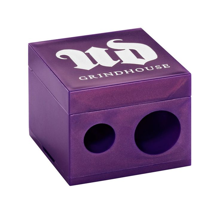 """""""Grindhouse"""" is the best pencil eyeliner sharpener I've ever had. It's stayed sharp, and it's easy to clean out, thanks to the tiny poking-stick which is stored inside."""