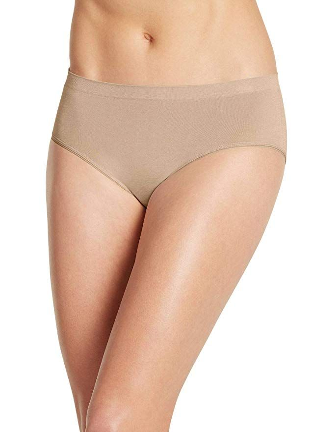 a05f376f737a6  11.50 Jockey Women s Underwear Smooth   Shine Seamfree Heathered Hipster  at Amazon Women s Clothing store