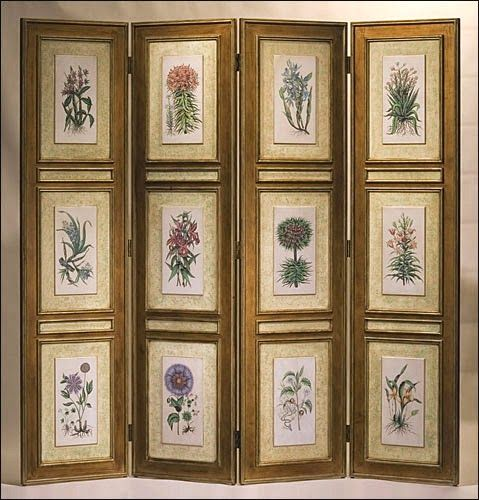 Elite Decor: 2014 Easy DIY Folding Screens Ideas : Room Dividers