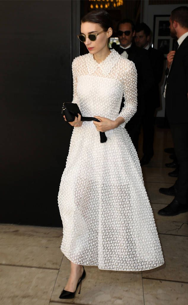 Rooney Mara from The Big Picture: Today's Hot Photos  Simply stunning! The actress rocks an all white dress while attending the 70th annual Cannes Film Festival.