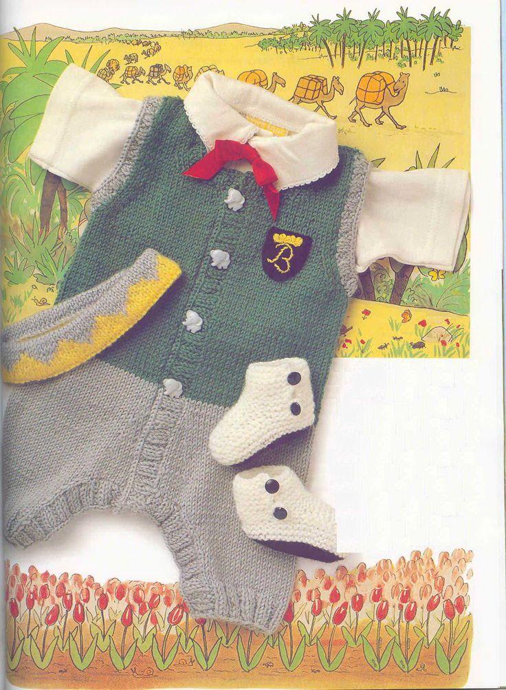 Renkli Bebek Tulumu açıklamalı resimli