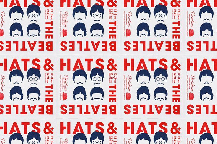 HATS & THE BEATLES on Behance
