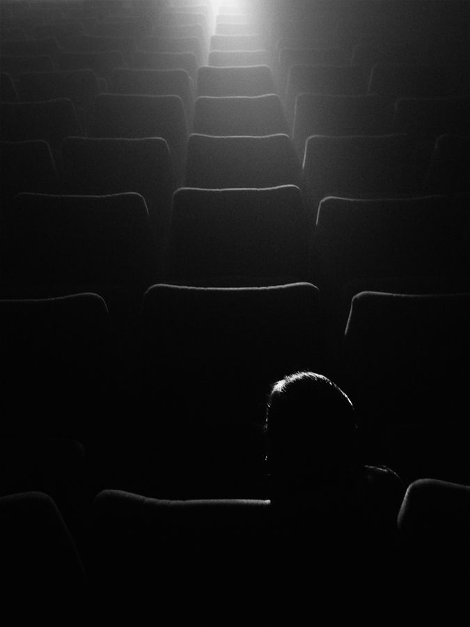 ☾ Midnight Dreams ☽  dreamy & dramatic black and white photography - Night Cinema by Lupe Vázquez