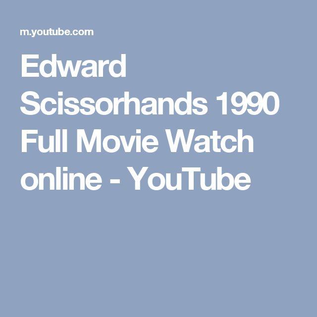 Edward Scissorhands 1990 Full Movie Watch online - YouTube