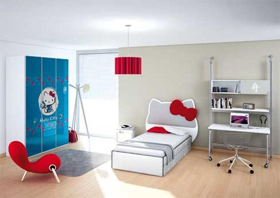 Image detail for -Hello Kitty Themes Ideas Kids Bedroom Decorating Inspirations ...