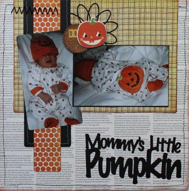 Mommy's Little Pumpkin Let's Get Sketchy:  October week 1