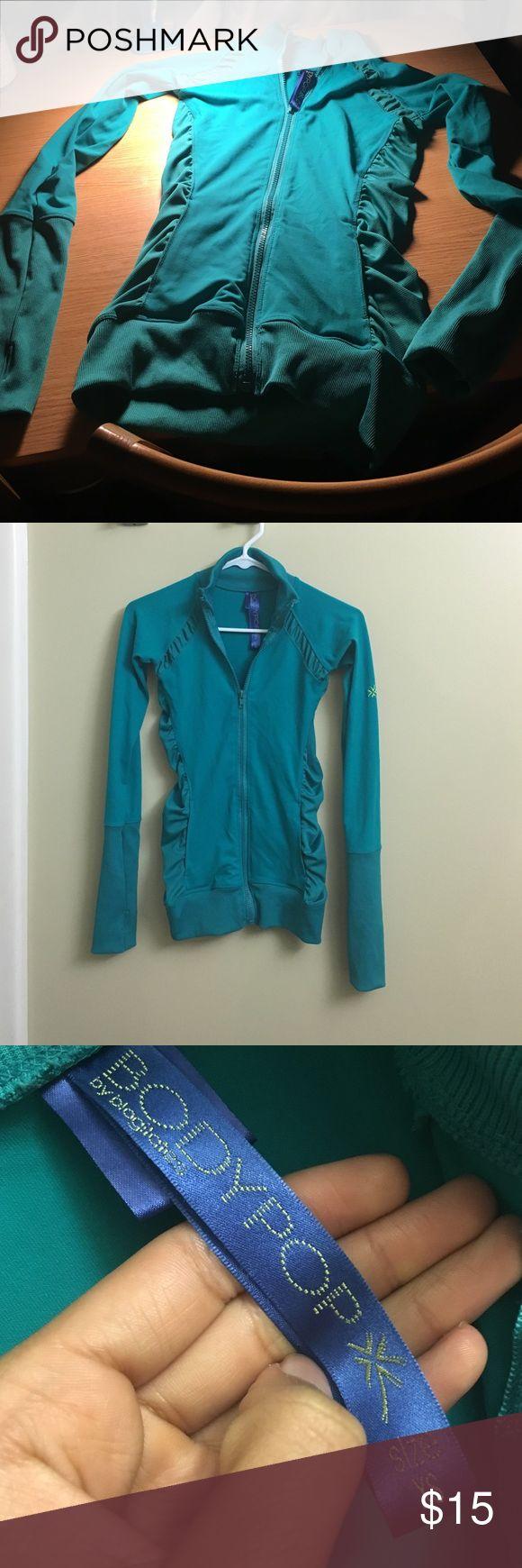 Blogilates Turquoise Athletic Jacket Stylish jacket with a tight, figure hugging fit. Blogilates Jackets & Coats