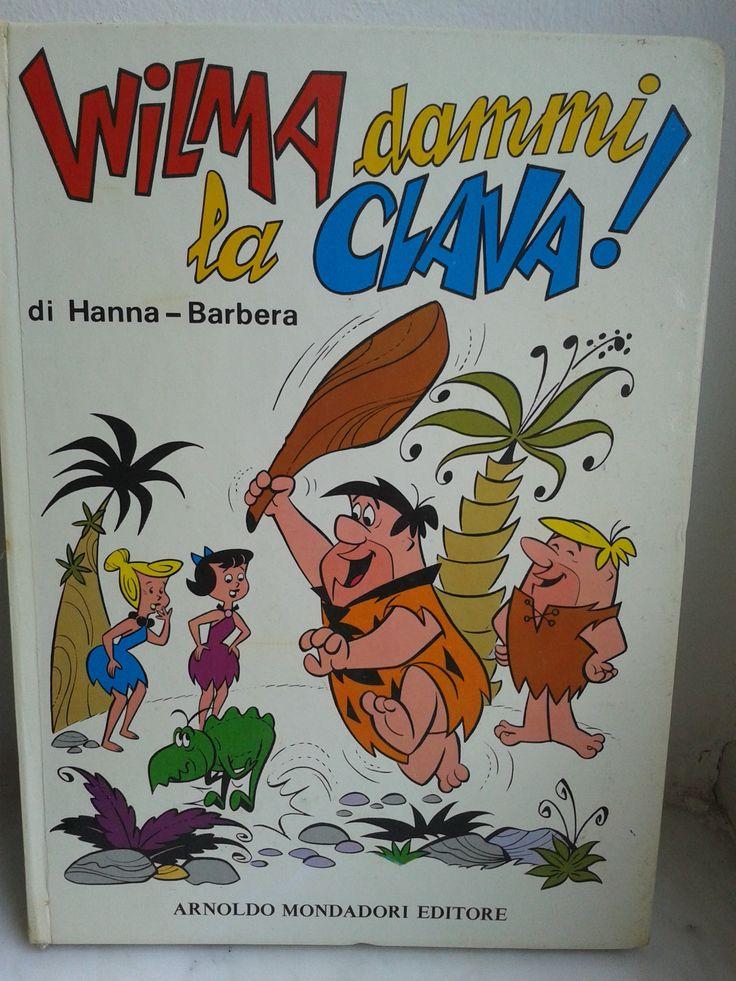 Wilma dammi la clava Hanna Barbera