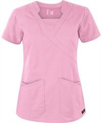 Barco ICU Scrubs Junior Mock Wrap Top