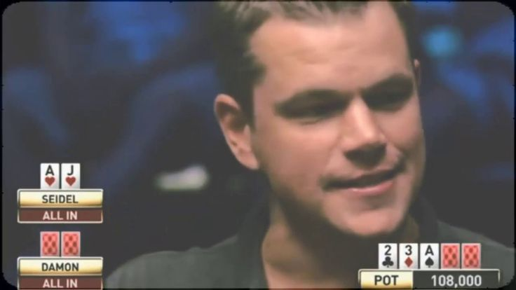 Rare footage of Matt Damon & Ben Affleck playing poker