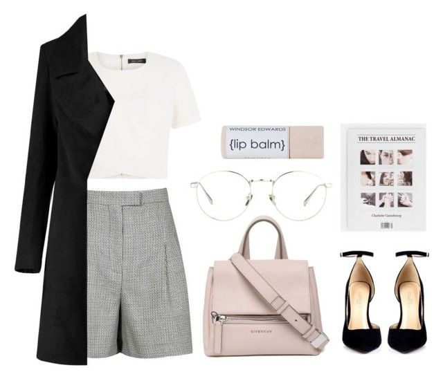 """Outfit (workwear) #26"" by tayscutts ❤ liked on Polyvore featuring Givenchy, Reiss, Linda Farrow, WorkWear and polyvoreeditorial"