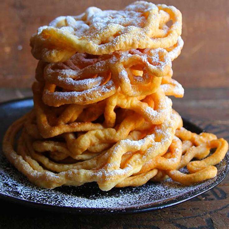 Dutch funnel cakes in 2020 funnel cake dutch waffles food
