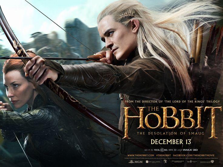 The 'Hobbit' returns: New movie art reveals 'Desolation of Smaug'oOOo cool