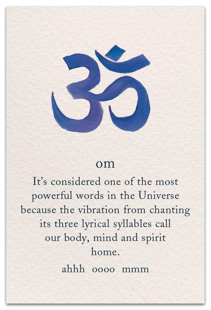 Om – Tattoos – Yoga