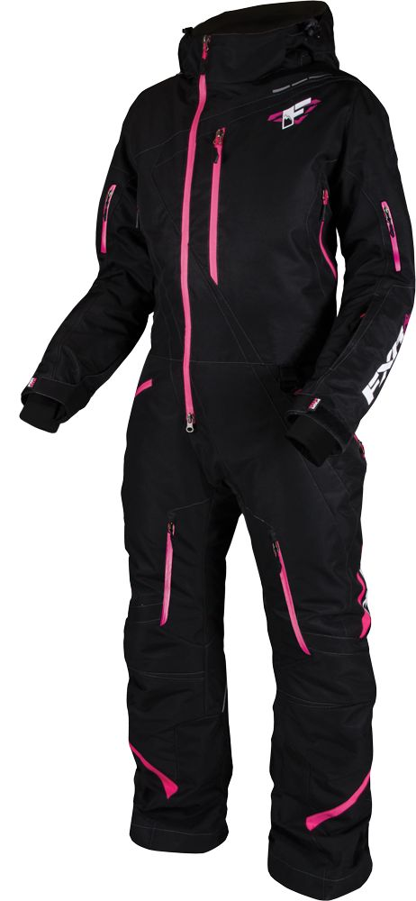 FXR Racing - Snowmobile Gear - Women's Maverick Mono Suit - Black