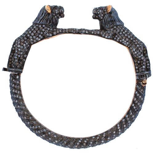 Buy Gorgeous Diamond Panther Bracelet For Your Beloved