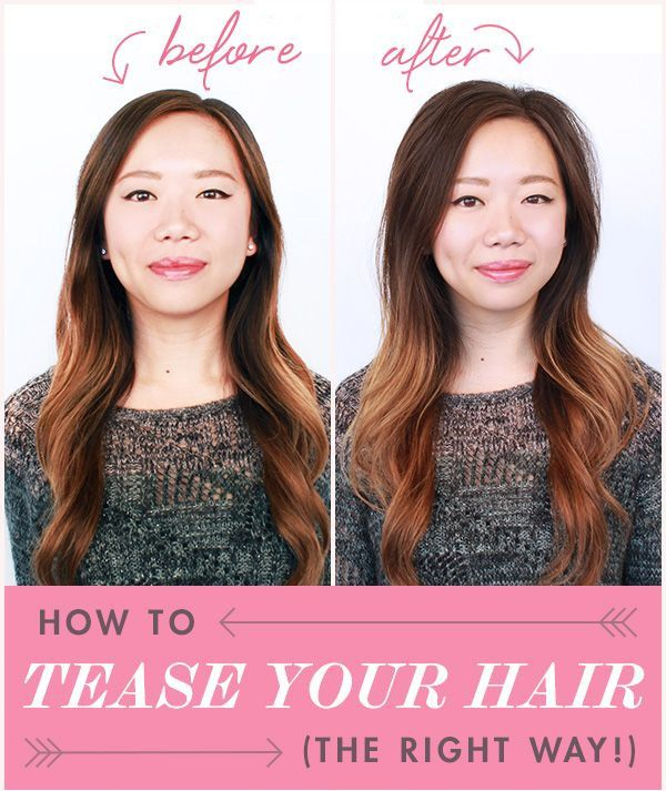 The advantage of teasing hair is it gives you instant volume. If you hair is flat and thin, this technique can illuminate a fuller hair. However, teasing can also damage your hair if you don't do it properly.   I came across a good demonstration of how to tease your hair properly and wanted to share with you all. While the image above explained it pretty clearly, here are some professional tips on teasing hair.   1. Always start with dry hair, because wet hair can severely damage your…