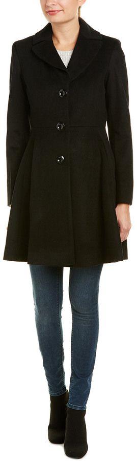 Trina Trina Turk Trina Turk Beverlee Wool-Blend Coat