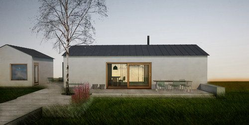 Summer House in Kovik by Part Bukowska Architects