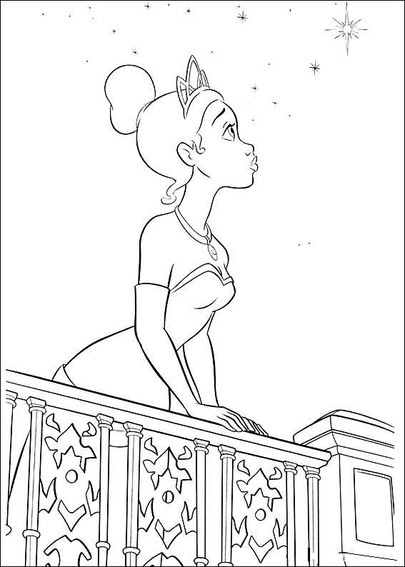 Awesome site for free coloring pages!!! Princess and the frog