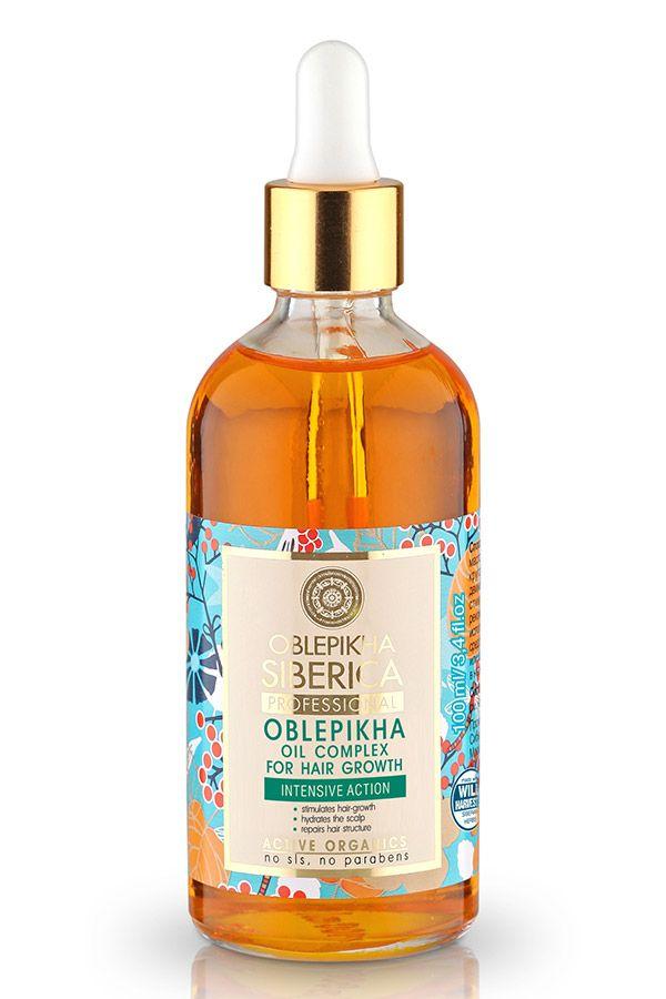 Oblepikha Oil Complex for Hair Growth, Λαδάκι για δυνατά και υγιή Μαλλιά, Κατά της τριχόπτωσης, 100 ml