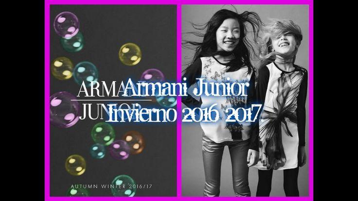 Armani Junior Otoño Invierno 2016 2017