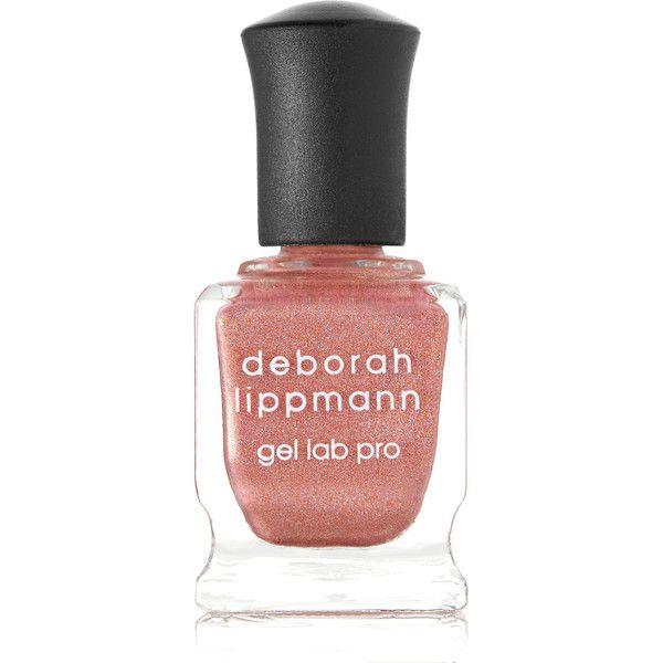 Deborah Lippmann Gel Lab Pro Nail Polish - Stargasm (98 MYR) ❤ liked on Polyvore featuring beauty products, nail care, nail polish, pink, gel nail color, gel nail polish, gel nail varnish, deborah lippmann nail lacquer and deborah lippmann nail polish