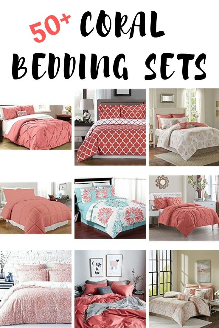 Coral Bedding Sets And Comforters Beachfront Decor Coral Bedding Sets Coral Bedding Bedding Sets Master Bedroom