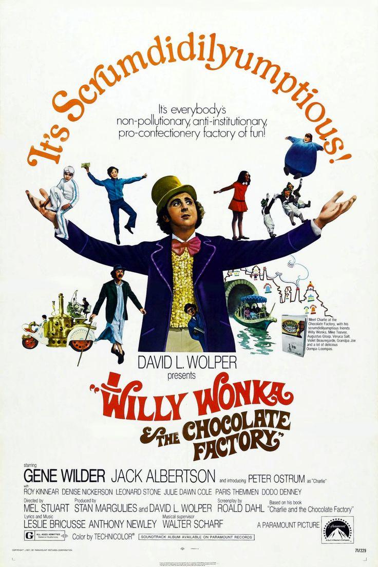 Willy Wonka & the chocolate factory / Willy Wonka e la fabbrica di cioccolato - 1971