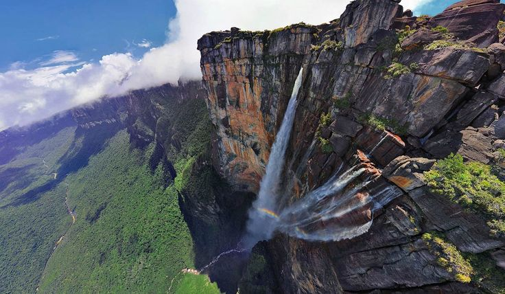 Водопад Анхель, Венесуэла - ПоЗиТиФфЧиК - сайт позитивного настроения!