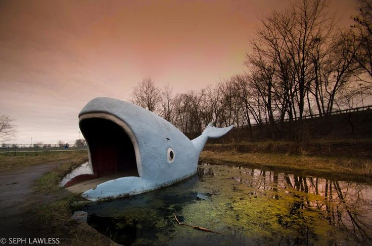 Abandoned amusement park by Seph Lawless