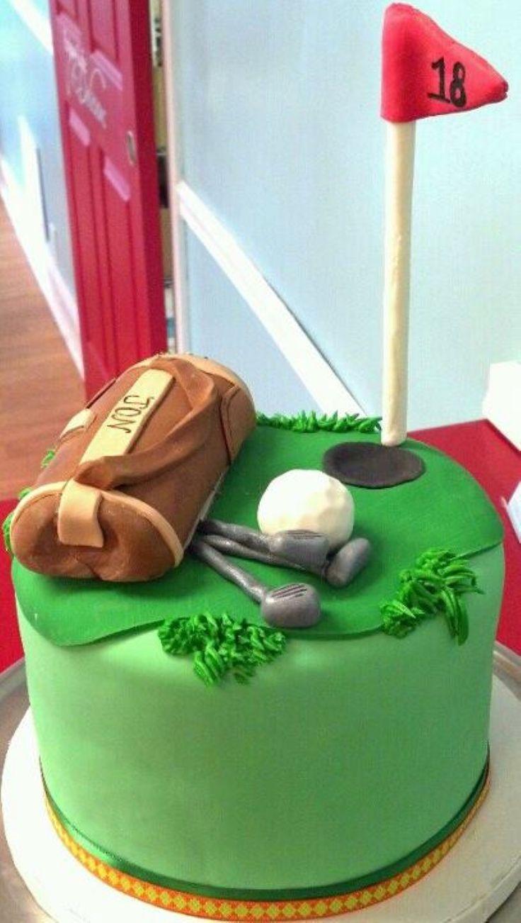 Golf Cake @USHoleInOne