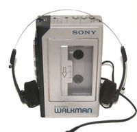 Never went anywhere without my Walkman radio/cassette player!!