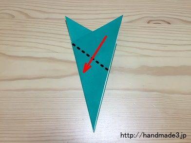 折り紙で笹の葉!笹つづりにもなる折り方は?