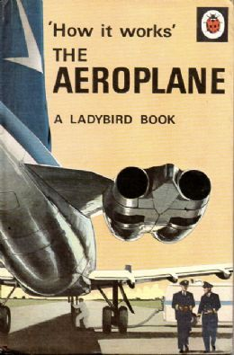 THE AEROPLANE Vintage Ladybird Book How It Works Series 654 First Edition Matt Hardback 1967