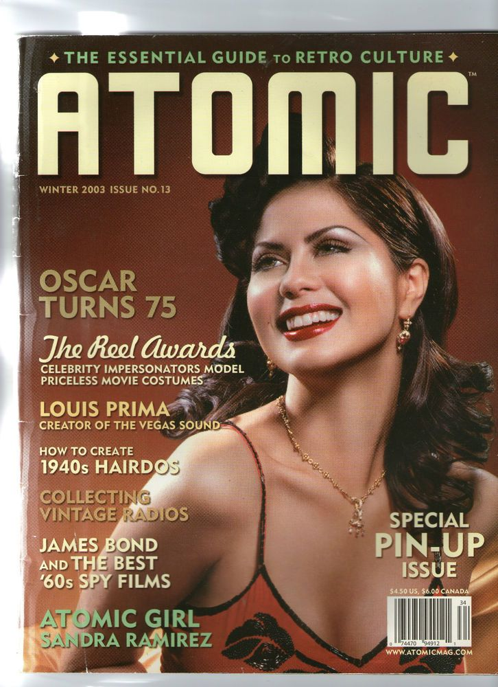 ATOMIC MAGAZINE. THE ESSENTIAL GUIDE TO RETRO CULTURE. ISSUE 13 .2003 | eBay
