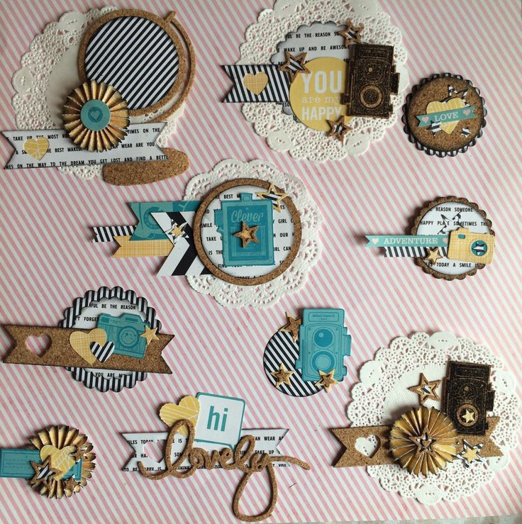 DIY embellishments by Nancy at heylittlemagpie.com