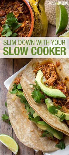 These look amazing! Breakfast, lunch, and dinner recipes. Try one of these healthy slow cooker recipes!