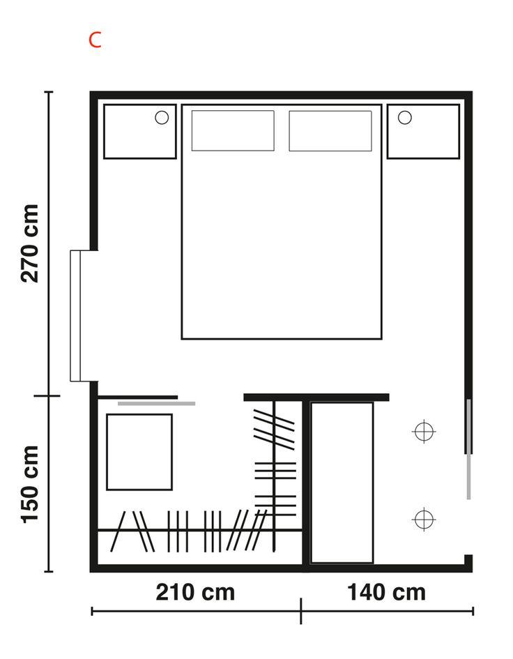 Oltre 25 fantastiche idee su idee per la stanza da letto for Piccoli piani di casa cabina di log