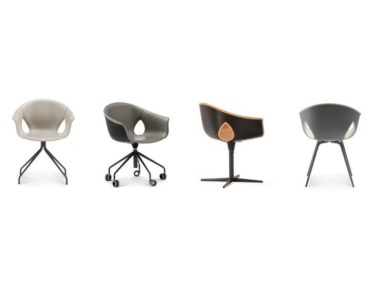 GINGER ALE Chaise by Poltrona Frau design Roberto Lazzeroni