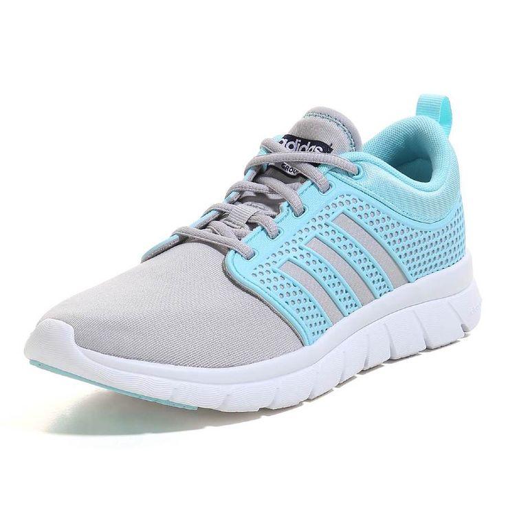 adidas NEO Women's Cloudfoam Groove W Casual Sneaker,Clear Onix Grey/Blue  Zest/Collegiate Navy,8.5 M US | Shoes! | Pinterest | Casual sneakers,  Adidas and ...