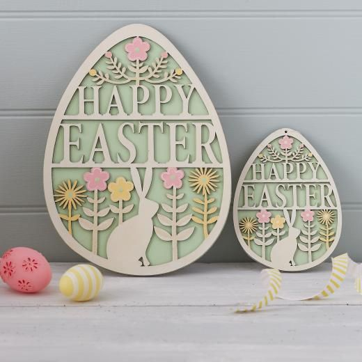 301 best easter images on pinterest gisela graham easter ideas fretwork easter egg sign easter home negle Images
