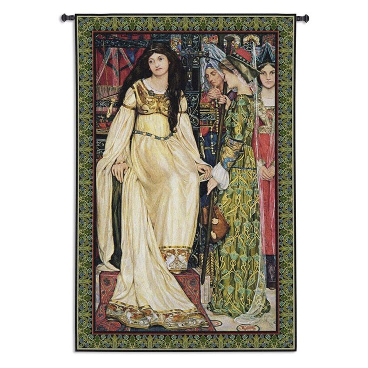 Fine Art Tapestries The Keepsake Wall Tapestry - 6148-WH
