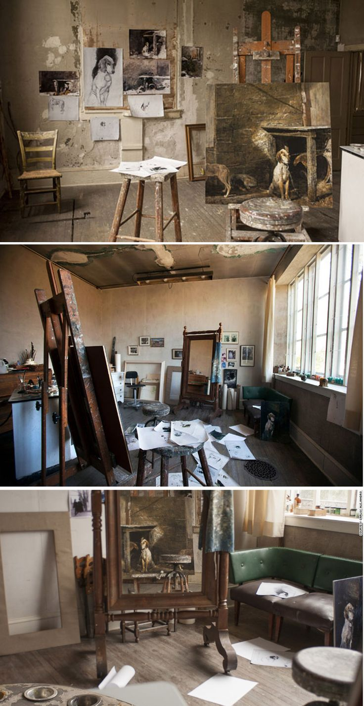 Andrew Wyethu0027s Studio In Chadds Ford, ...