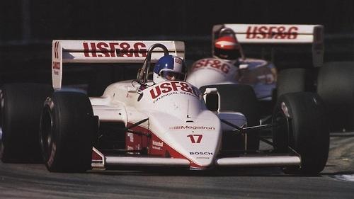 #17 Derek Warwick     #18 Eddie Cheever     Arrows-Megatron A10
