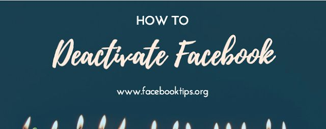 How to deactivate & Disable Facebook Account on Temporarily on App Immediately Using Facebook privacy settings