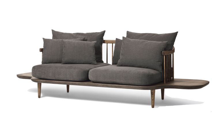 &tradition Fly Sofa with Tables-andt_grey | mintroom.de #&tradition #mintroom #sofa / sessel / tische / aufbewahrung und licht