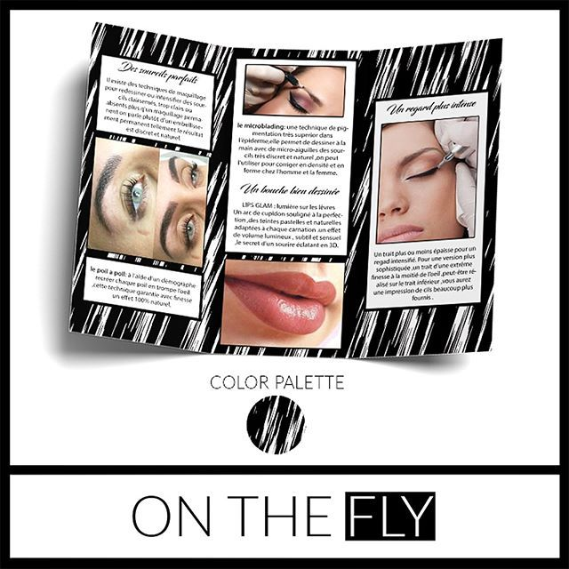 ⋆★⋆ Gorgeous brochures made to match her business cards! 🔥⋆★⋆ #OnTheFly #OTFdesigns #OnTheFlyDesigns #BusinessCards #Modern #Elegant #Microblading #Eyebrows #permanentmakeup #EyelashExtensions #MUA #Makeup #MicrobladingBrochure #GraphicDesign #Design #Graphics #Artwork #Logos #DigitalArt #Branding #SmallBusiness #Love #Follow #BlackAndWhite #Business #BlackandWhite #Brochure #BrochureDesign #French #International