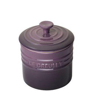 Le Creuset Stoneware Storage Jar 0.8 L Cassis Purple