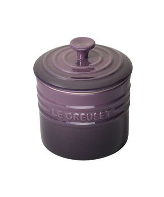 Le Creuset Stoneware Storage Jar. My BFF would love this colour!
